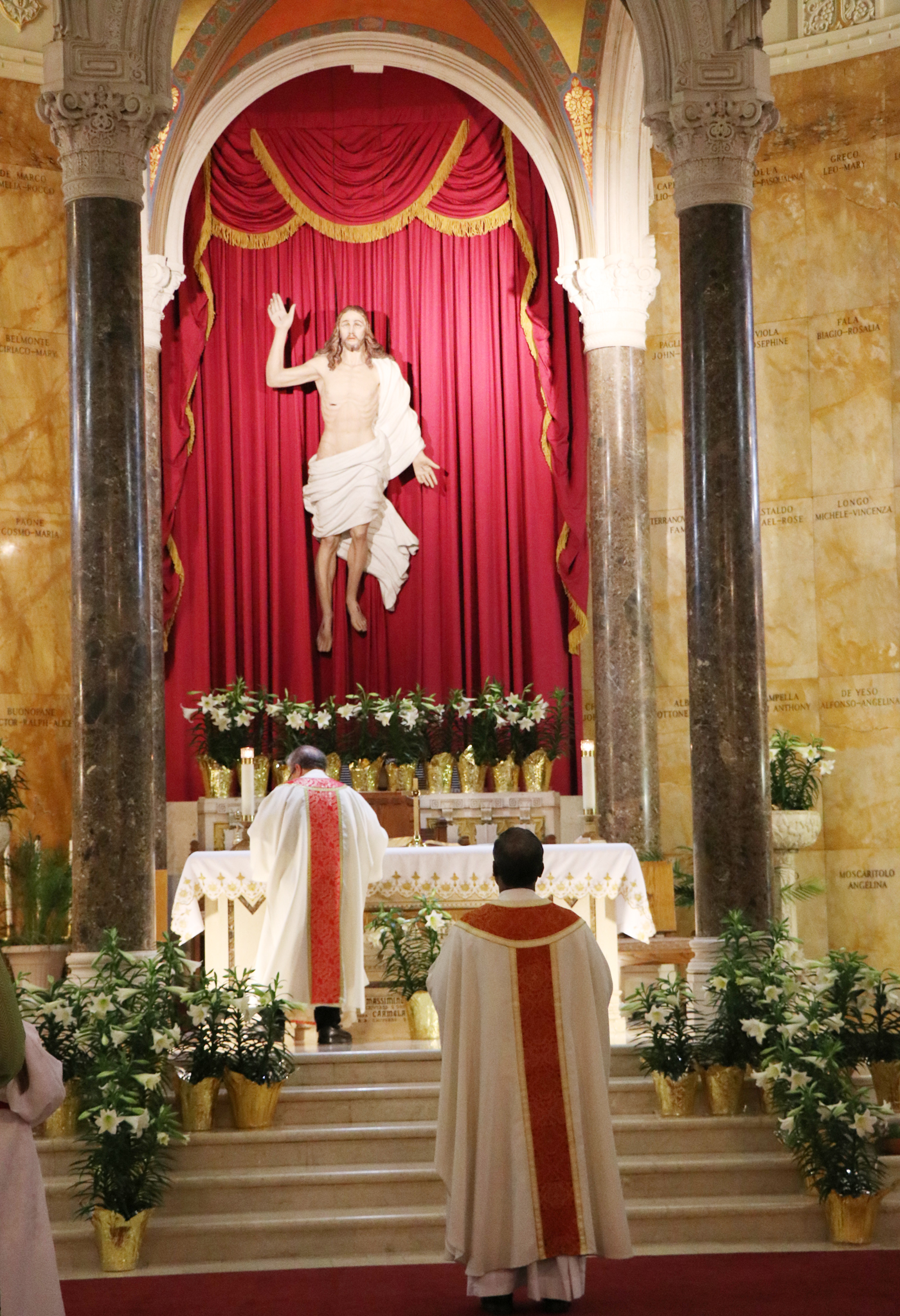 Easter Sunday Mass At St Anthony S Church Advocate News Online