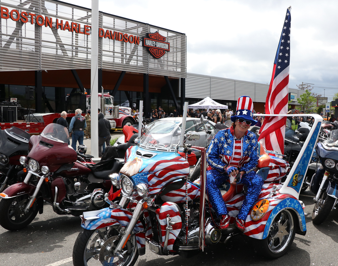 Boston Harley Davidson >> Wounded Veteran S Mc Run 2018 They Fought We Ride From